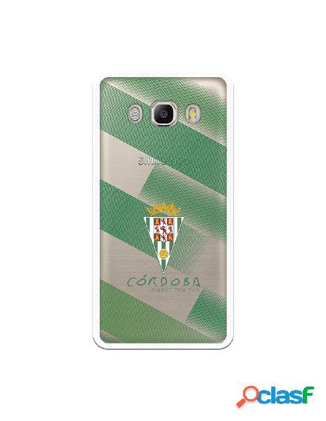 Carcasa para Samsung Galaxy J5 2016 Córdoba CF Trazos