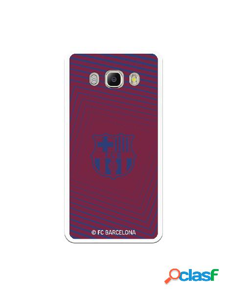 Carcasa para Samsung Galaxy J5 2016 FC Barcelona Escudo Azul