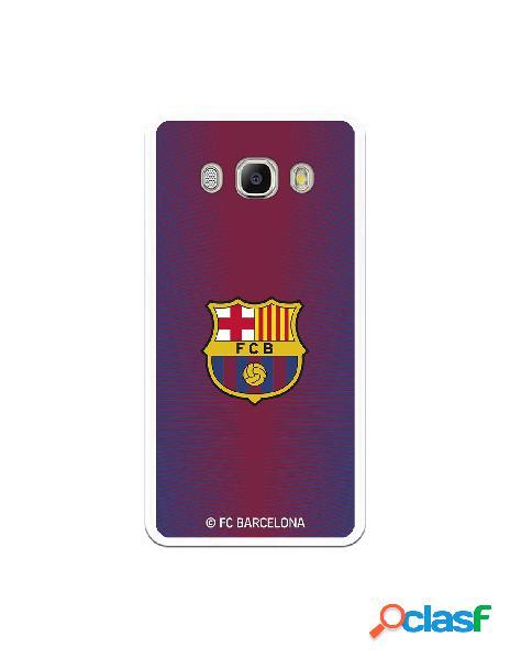 Carcasa para Samsung Galaxy J5 2016 FC Barcelona Fondo Rojo