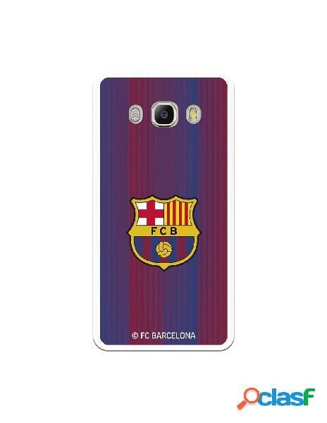 Carcasa para Samsung Galaxy J5 2016 FC Barcelona Retro