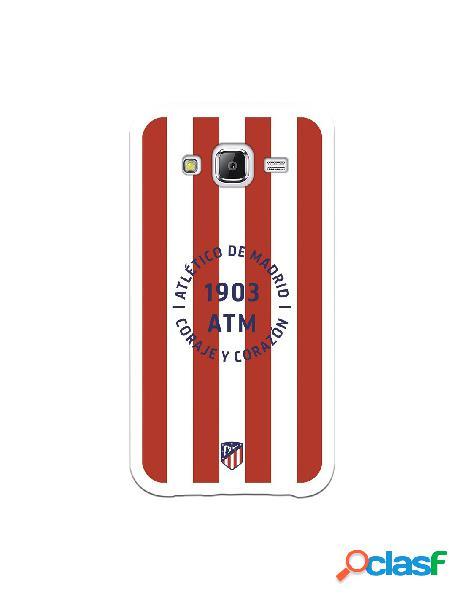 Carcasa para Samsung Galaxy J5 Atlético de Madrid Coraje y