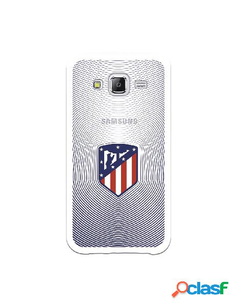 Carcasa para Samsung Galaxy J5 Atlético de Madrid Escudo