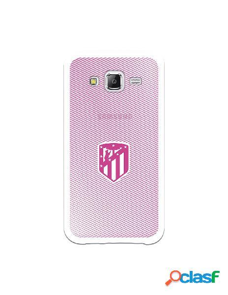 Carcasa para Samsung Galaxy J5 Atlético de Madrid Lineas