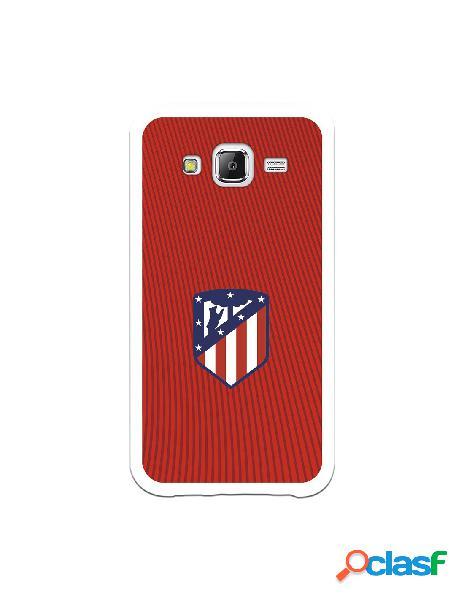 Carcasa para Samsung Galaxy J5 Atlético de Madrid Rojo -