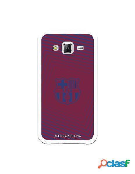 Carcasa para Samsung Galaxy J5 FC Barcelona Escudo Azul -