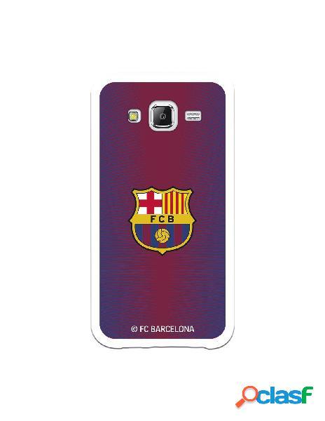 Carcasa para Samsung Galaxy J5 FC Barcelona Fondo Rojo