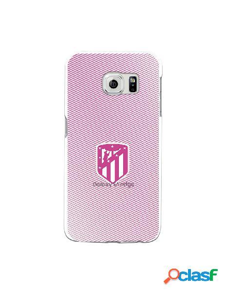 Carcasa para Samsung Galaxy S6 Edge Atlético de Madrid