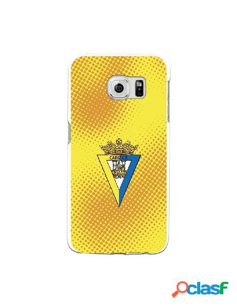 Carcasa para Samsung Galaxy S6 Edge Cádiz CF Semitono