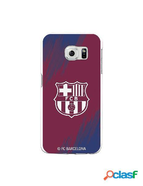 Carcasa para Samsung Galaxy S6 Edge FC Barcelona Escudo