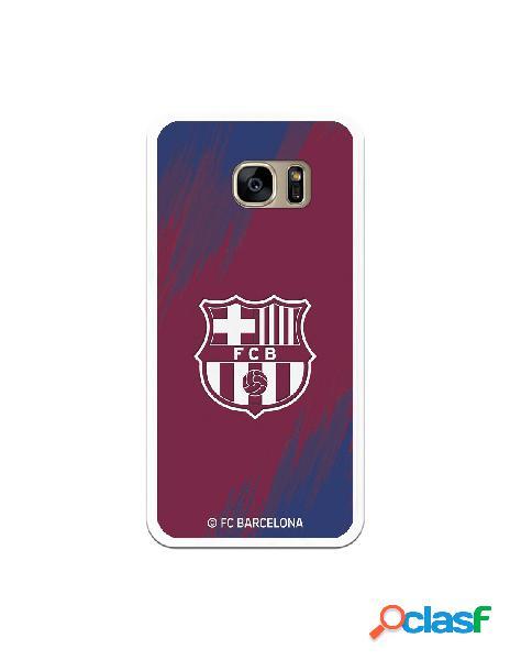 Carcasa para Samsung Galaxy S7 Edge FC Barcelona Escudo