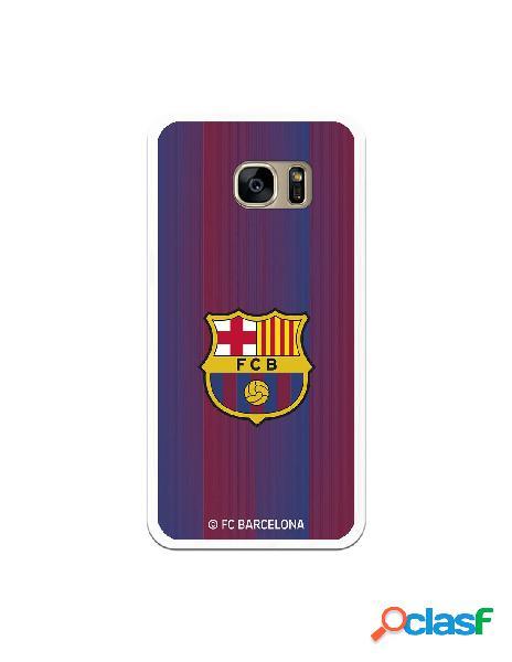 Carcasa para Samsung Galaxy S7 Edge FC Barcelona Retro