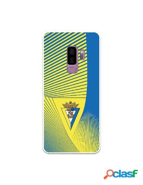Carcasa para Samsung Galaxy S9 Plus Cádiz CF Motivo Lineal