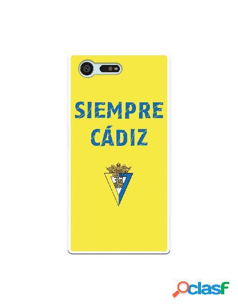 Carcasa para Sony Xperia X Compact Cádiz CF Siempre