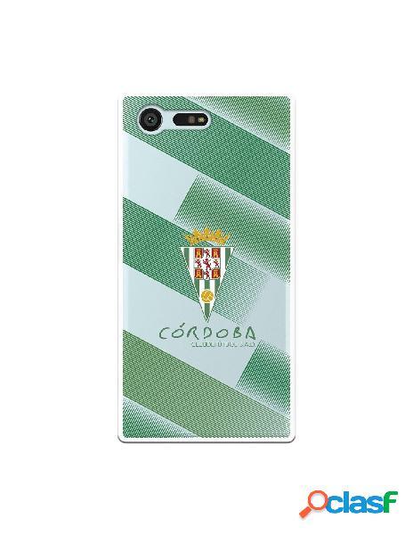 Carcasa para Sony Xperia X Compact Córdoba CF Trazos Verdes