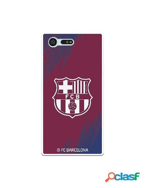 Carcasa para Sony Xperia X Compact FC Barcelona Escudo