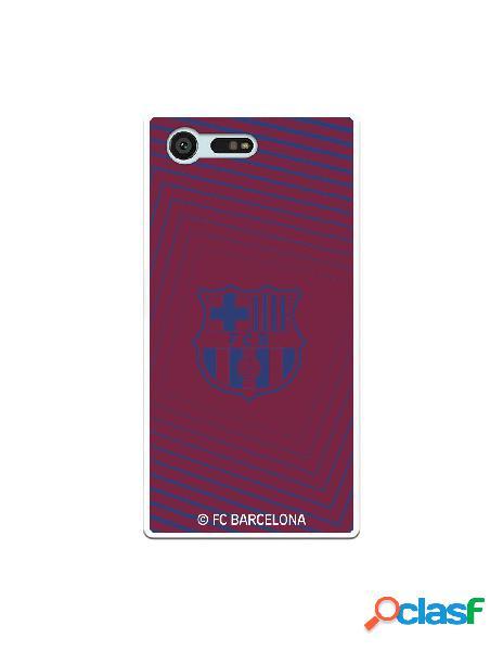 Carcasa para Sony Xperia X Compact FC Barcelona Escudo Azul