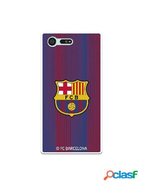 Carcasa para Sony Xperia X Compact FC Barcelona Retro