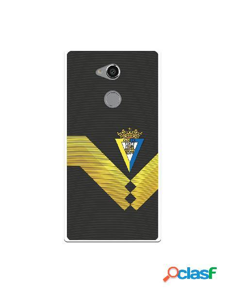 Carcasa para Sony Xperia XA2 Ultra Cádiz CF Fondo Negro -