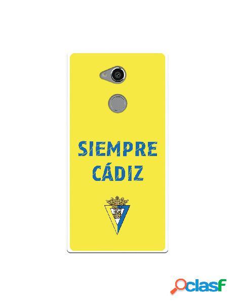 Carcasa para Sony Xperia XA2 Ultra Cádiz CF Siempre
