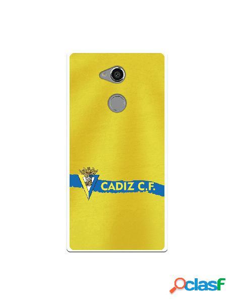 Carcasa para Sony Xperia XA2 Ultra Cádiz CF Textura sobre