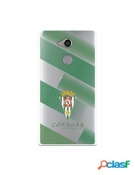 Carcasa para Sony Xperia XA2 Ultra Córdoba CF Trazos Verdes