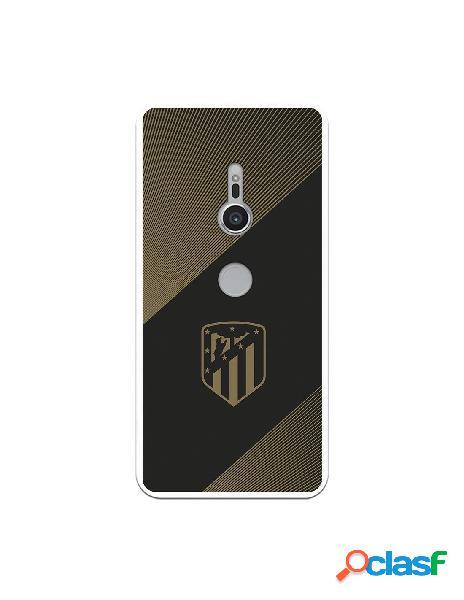 Carcasa para Sony Xperia XZ2 Atlético de Madrid Fondo Negro