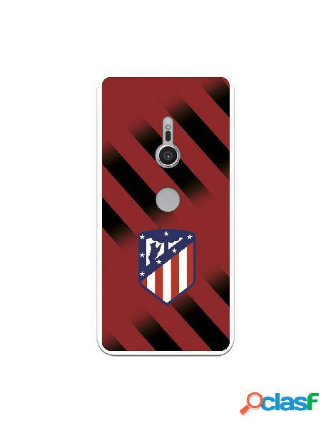 Carcasa para Sony Xperia XZ2 Atlético de Madrid Fondo Rojo