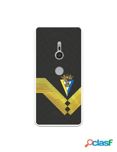 Carcasa para Sony Xperia XZ2 Cádiz CF Fondo Negro -
