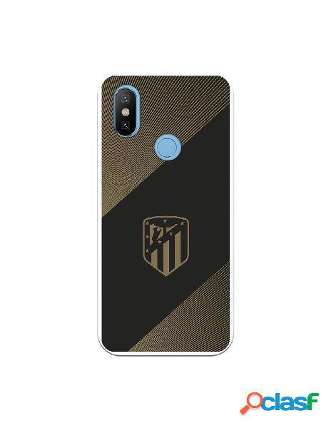 Carcasa para Xiaomi MI A2 Atlético de Madrid Fondo Negro -