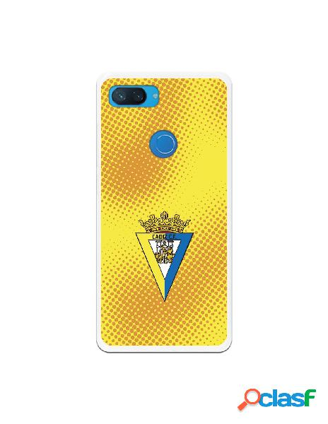 Carcasa para Xiaomi Mi 8 Lite Cádiz CF Semitono Puntos -