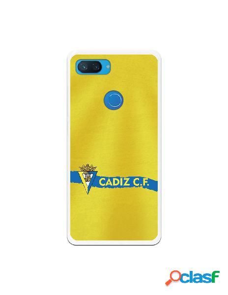 Carcasa para Xiaomi Mi 8 Lite Cádiz CF Textura sobre