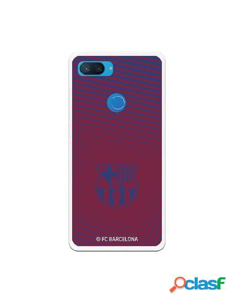 Carcasa para Xiaomi Mi 8 Lite FC Barcelona Escudo Azul -