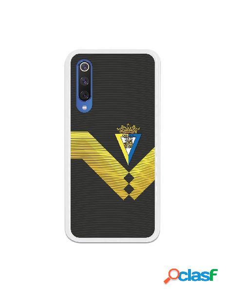 Carcasa para Xiaomi Mi 9 SE Cádiz CF Fondo Negro - Licencia