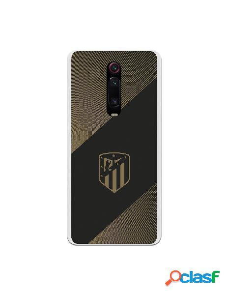 Carcasa para Xiaomi Mi 9T Atlético de Madrid Fondo Negro -