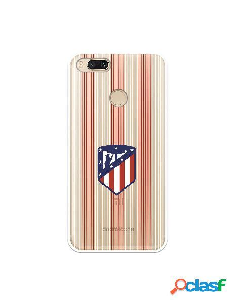Carcasa para Xiaomi Mi A1 Atlético de Madrid Lineas