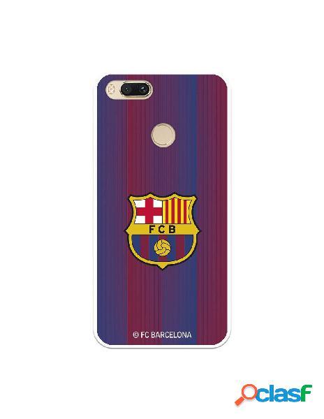 Carcasa para Xiaomi Mi A1 FC Barcelona Retro Blaugrana