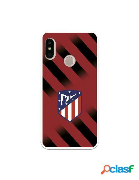 Carcasa para Xiaomi Mi A2 Lite Atlético de Madrid Fondo