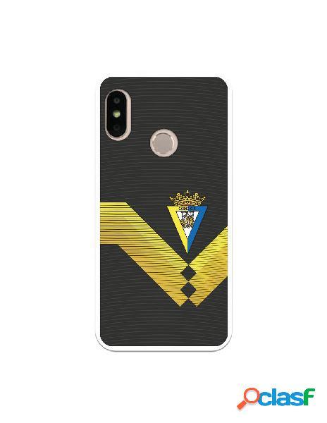 Carcasa para Xiaomi Mi A2 Lite Cádiz CF Fondo Negro -