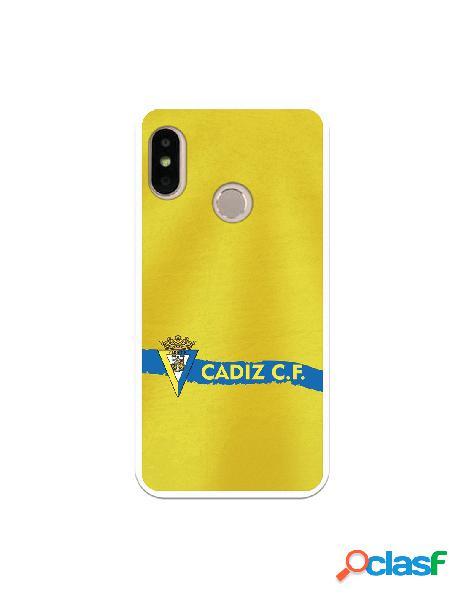 Carcasa para Xiaomi Mi A2 Lite Cádiz CF Textura sobre