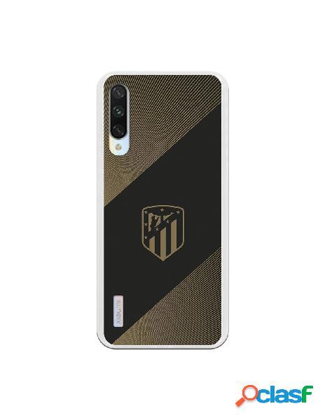 Carcasa para Xiaomi Mi A3 Atlético de Madrid Fondo Negro -