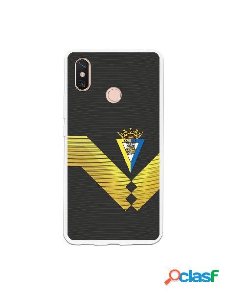 Carcasa para Xiaomi Mi Max 3 Cádiz CF Fondo Negro -