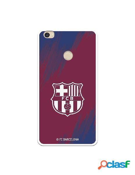 Carcasa para Xiaomi Mi Max FC Barcelona Escudo Blanco Fondo