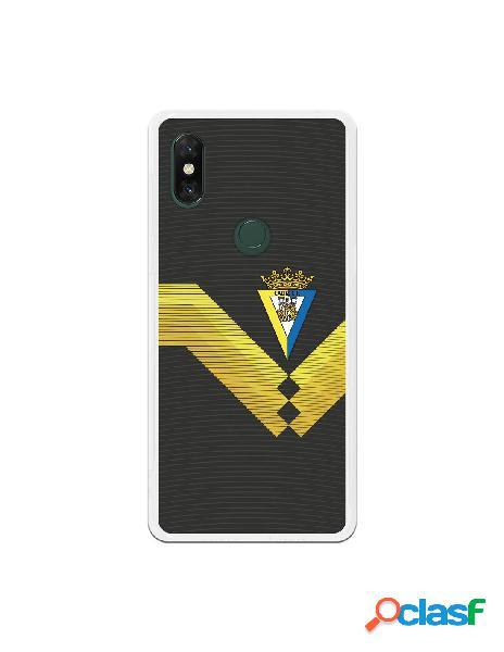 Carcasa para Xiaomi Mi Mix 3 Cádiz CF Fondo Negro -