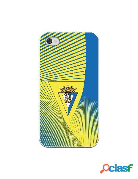Carcasa para iPhone 4 Cádiz CF Motivo Lineal - Licencia