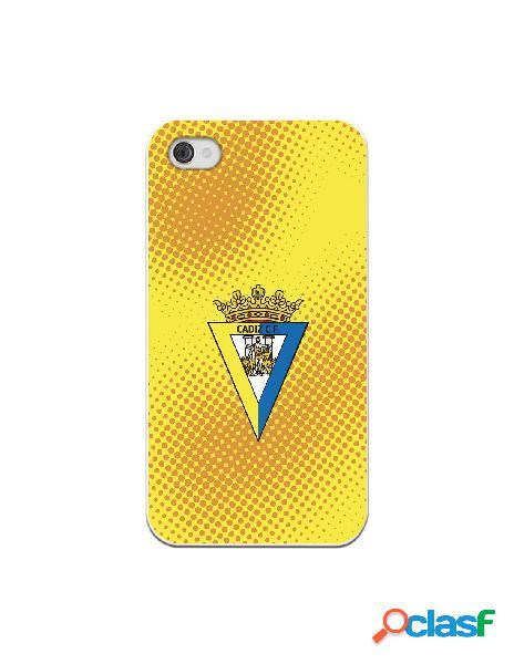 Carcasa para iPhone 4 Cádiz CF Semitono Puntos - Licencia