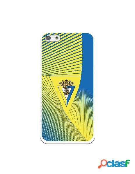 Carcasa para iPhone 5 Cádiz CF Motivo Lineal - Licencia