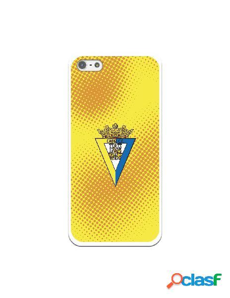 Carcasa para iPhone 5 Cádiz CF Semitono Puntos - Licencia