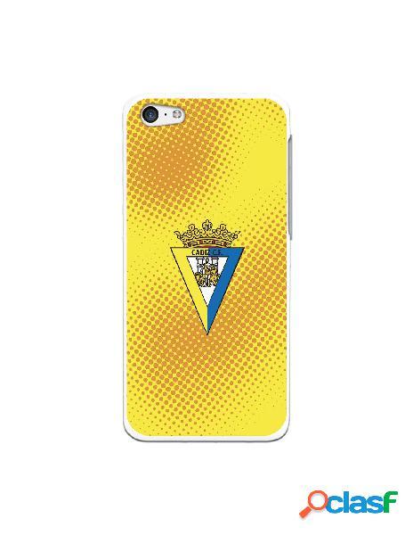Carcasa para iPhone 5C Cádiz CF Semitono Puntos - Licencia