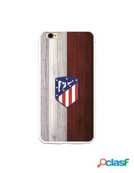 Carcasa para iPhone 6 Plus Atlético de Madrid Madera -
