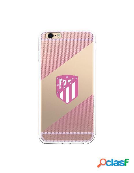 Carcasa para iPhone 6 Plus Atlético de Madrid Rosa